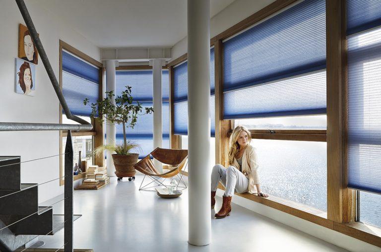 Huis en Zon raamdecoratie en zonwering - bezoek onze luxaflex inspiratie shop