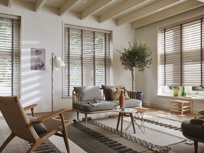 Huis en Zon Raamdecoratie en Zonwering – Luxaflex Houten jaloezie 3