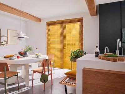 Huis en Zon Raamdecoratie en Zonwering – Luxaflex Houten jaloezie 4