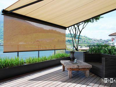 Huis en Zon Raamdecoratie en Zonwering – knikarm zonnescherm - buitenzonwering