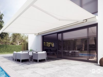 Huis en Zon Raamdecoratie en Zonwering – knikarmzonnescherm - buitenzonwering